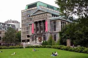 Redpath Museum at McGill University in Montreal Canada