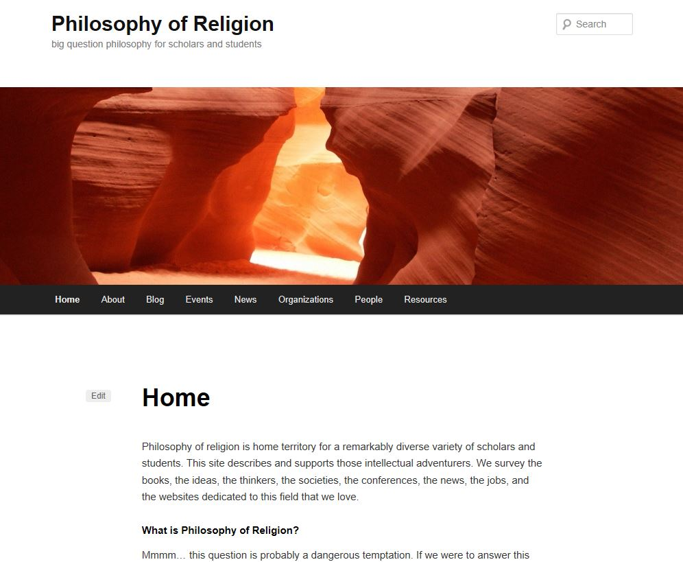 For religious people: a selection of sites
